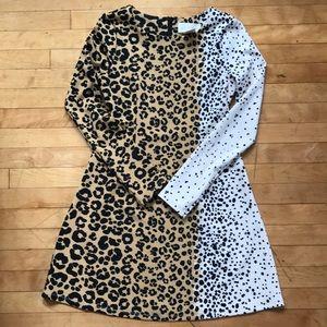 Julie Brown leopard cheetah print dress